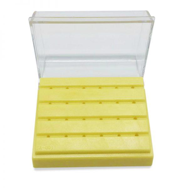 Burs Holder Plastic 24 Hole Non Autoclavable
