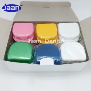 Denture Box with Basket