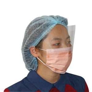 Mask with face shield