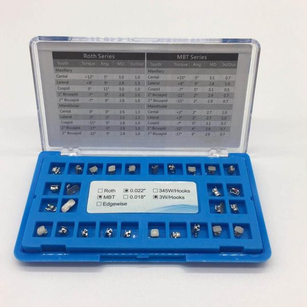 Active Self-Ligating Bracket with CE, ISO, FDA