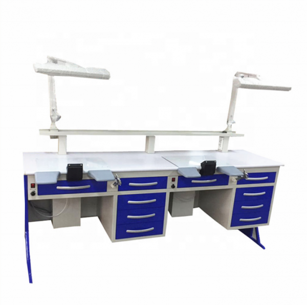 CE Double person 2.15M dental work bench