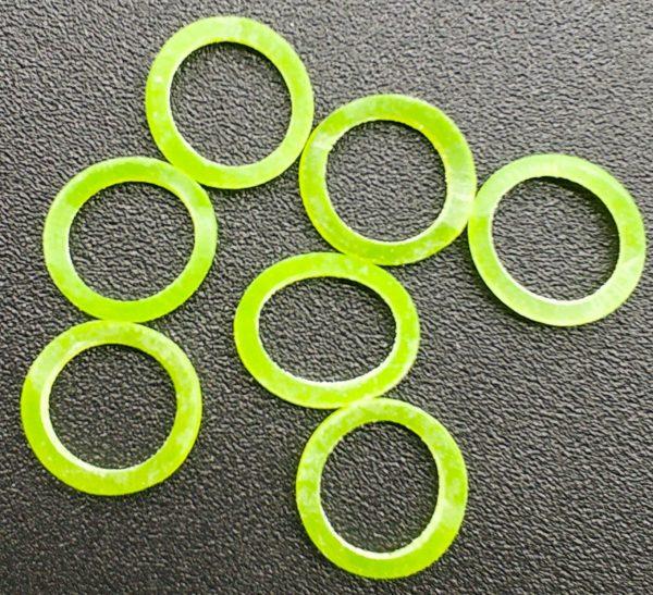 Cheap Colorful Elastic O-rings