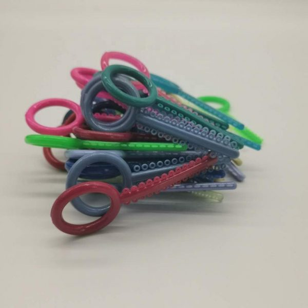 Elastic O Rings Colorful