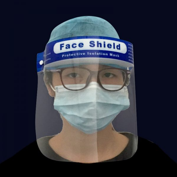 Disposable Anti Fog Isolation Face Shield