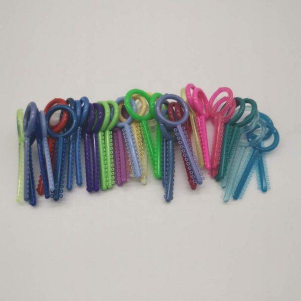 Ligature Ties Colorful
