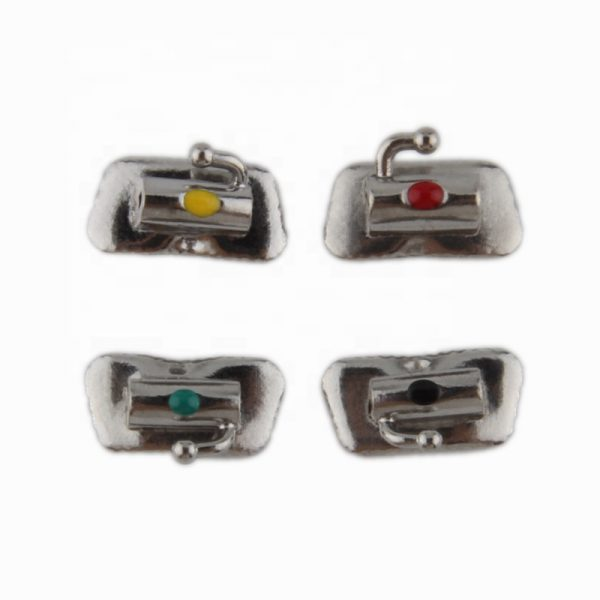 Stainless steel 2nd bondable buccal tube
