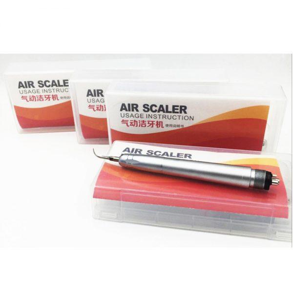 Dental air scaler handpiece