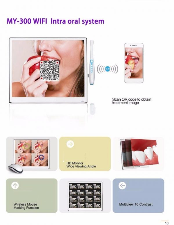 """Intra Oral camera  With Monitor 17"""""""