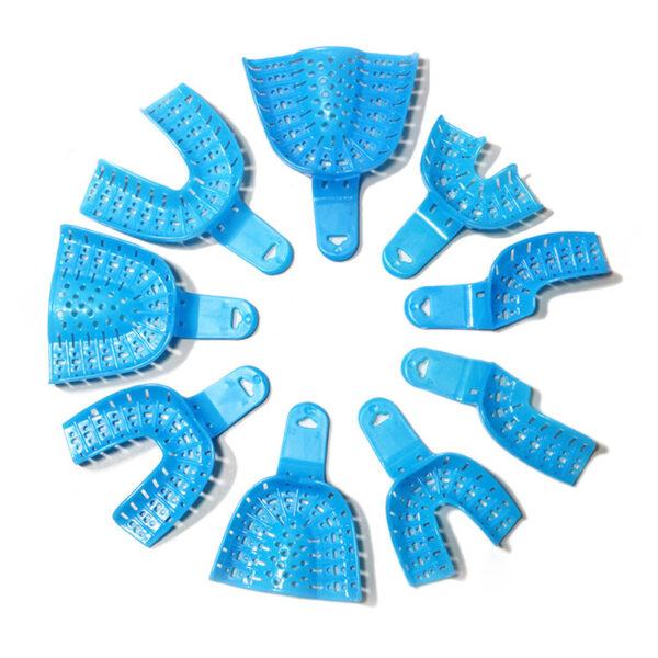 Impression Tray Plastic (9 Pcs Set)